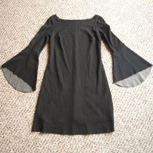 Bailey 44 bell sleeve Ponte knit dress M XS/S